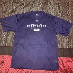 Under Armour United States Coast Guard Men's Shirt